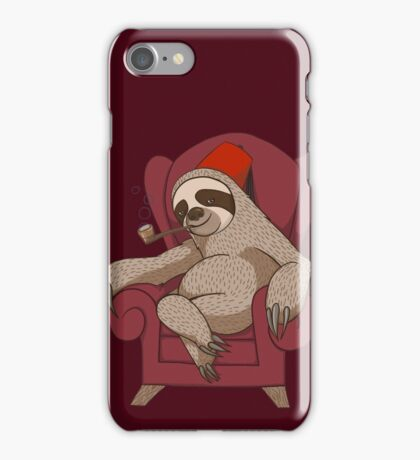 Sophisticated Sloth iPhone Case/Skin