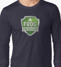 Frog Protection? Fraud Protection!  Long Sleeve T-Shirt
