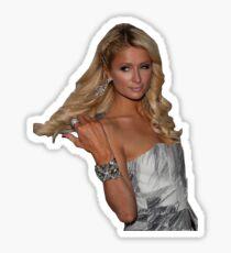 Paris Hilton Sass Queen Sticker