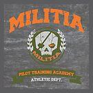 Militia Pilot Training Academy - Pillow by D4N13L