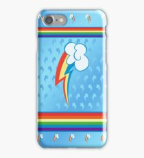 My little Pony - Rainbow Dash Cutie Mark V4 iPhone Case/Skin