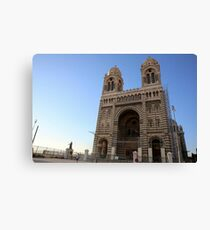 Marseille Cathedral, Roman Catholic cathedral in Marseille, southern France Canvas Print