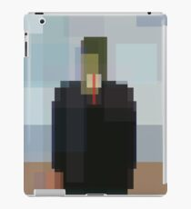 Magritte: Son of Man (computer-generated abstract version) iPad Case/Skin