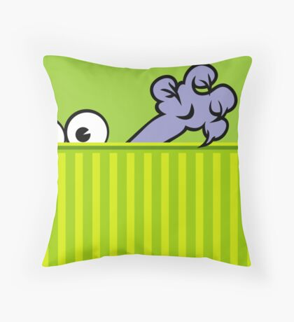 The Cat Claw VRS2 Throw Pillow