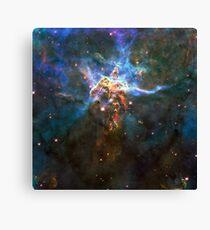 Expanse of God's Universe   Galaxy Mathematix Canvas Print