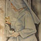 Nun at Vila de Este, Italy by Gary Shaw
