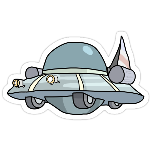 how to draw a ufo spaceship