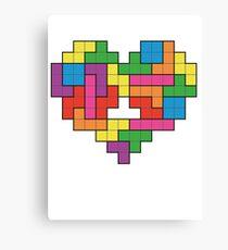 Tetris Canvas Print