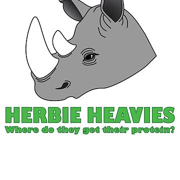 Herbie Heavies: Rhino by beaneatsgreens