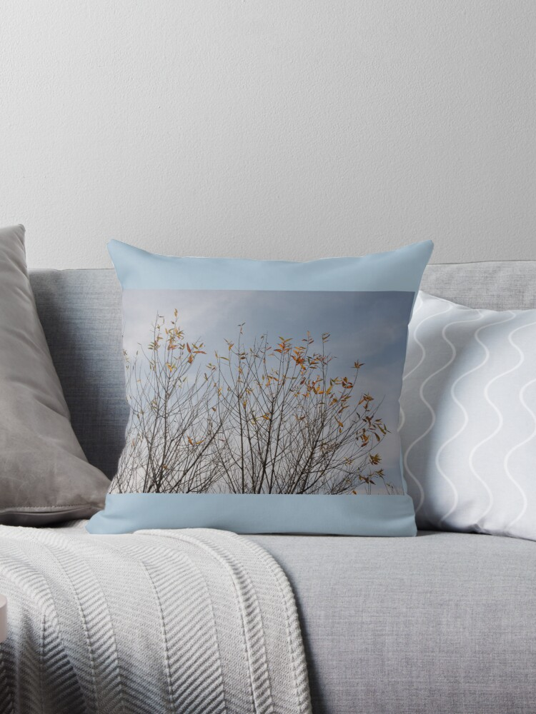 Tree Branches Pillow by CarolM