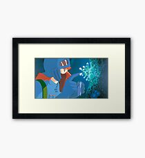 Nausea of the Valley of the Wind Framed Print