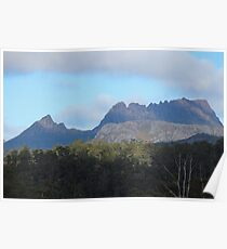 Cradle Mt ... near the turnoff to Devils @ Cradle Poster