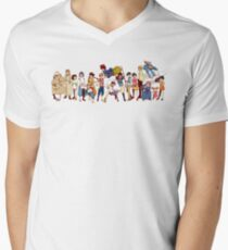 Team Ghibli - Studio Ghibli Men's V-Neck T-Shirt