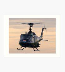 Huey Helicopter Art Print