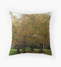 Autumn iLeaves Throw Pillow