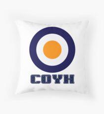 COYH - LUTON TOWN THROW PILLOW Throw Pillow