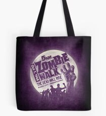 Zombie Walk - Grey Tote Bag