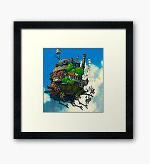 Howl's Moving Castle Framed Print