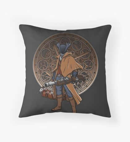 Fear the blood. Throw Pillow