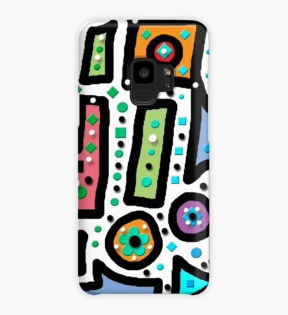 Abstract n Dots Case/Skin for Samsung Galaxy