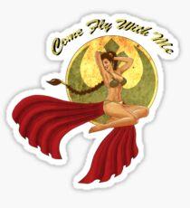 Slave War Pin Up Sticker