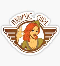 Atomic Girl  Sticker