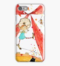 Pippi at the circus iPhone Case/Skin