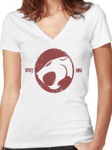 Legendary Thundercats  Women's Fitted V-Neck T-Shirt