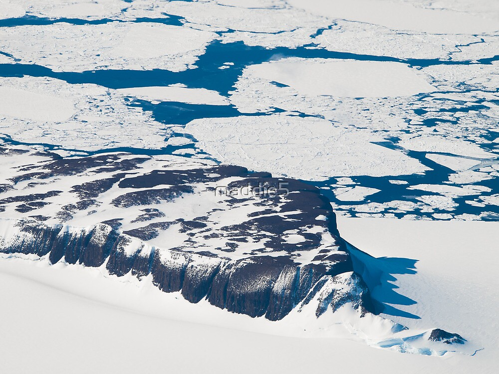 Antarctica from above #6 by maddie5
