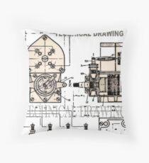 Techy Throw Pillow