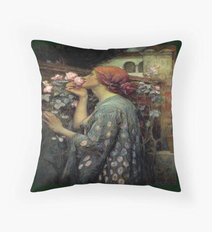 Pre Raphaelite , Throw Pillow  Throw Pillow