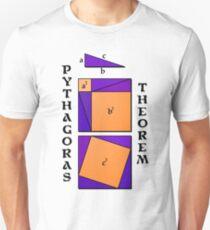 Pythagoras Theorem geometrical proof T-Shirt