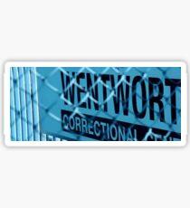 Wentworth Prison Sticker