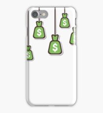dollar currency bag iPhone Case/Skin