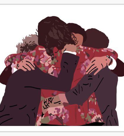 One Direction Group Hug 2015 Sticker