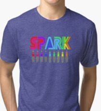 SPARK colour Tri-blend T-Shirt