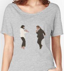 Camiseta ancha para mujer Danza Pulp Fiction