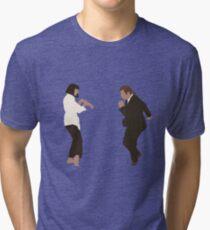 Pulp Fiction dance Tri-blend T-Shirt