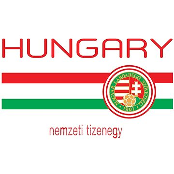 Euro 2016 - Hungary (Away White) by madeofthoughts