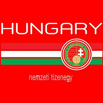 Euro 2016 - Hungary (Home Red) by madeofthoughts