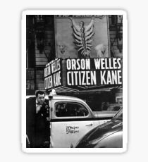 Orson Welles at Citizen Kane premier  Sticker