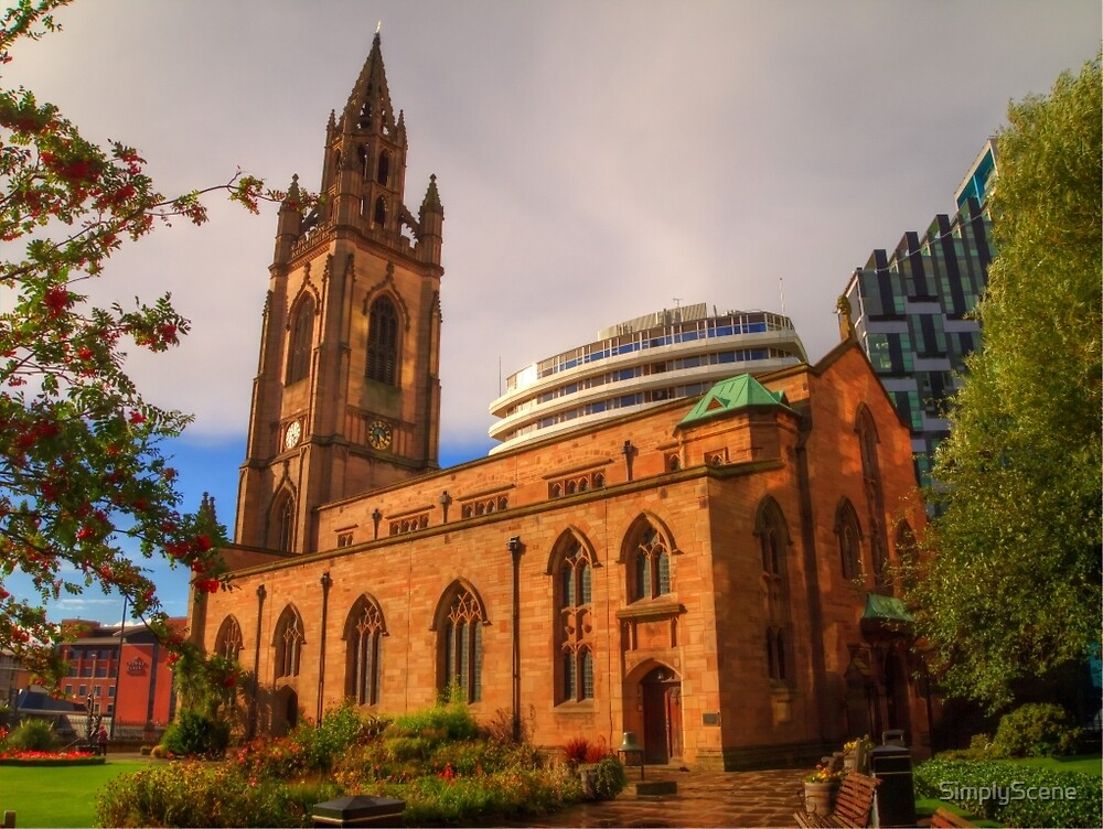 The Church of Our Lady and Saint Nicholas - Liverpool UK by SimplyScene