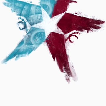 Infamous second son Eagles by Tenkanos