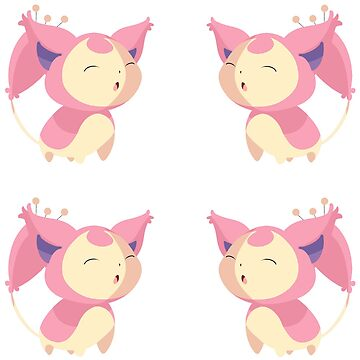 Skitty Stickers by pixielog