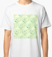 Green Valentine's Hearts Classic T-Shirt