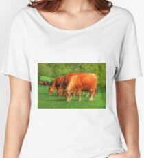 Cows - rural scene Women's Relaxed Fit T-Shirt