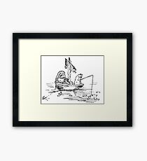 The Owl and The Pussycat Beatrix Potter Framed Print