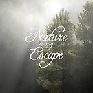 « La nature est ma fuite » par Chillest
