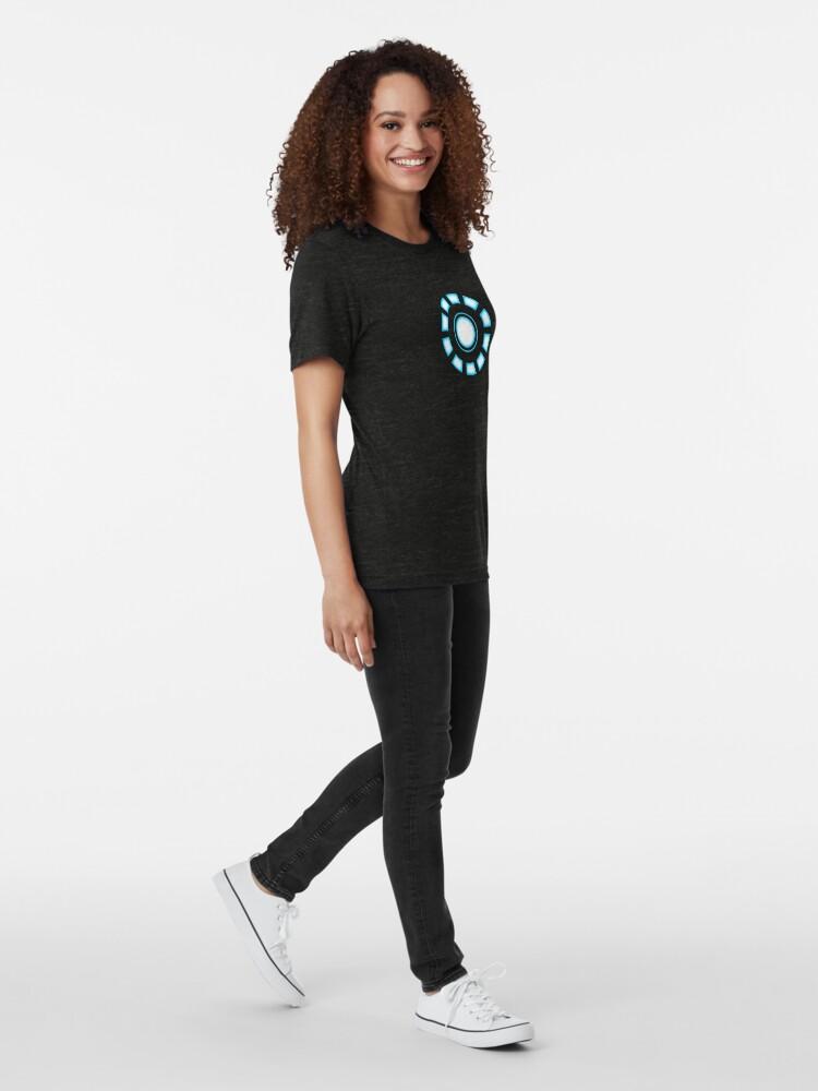 Vista alternativa de Camiseta de tejido mixto Reactor de arco