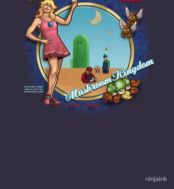 Mushroom Kingdom by ninjaink